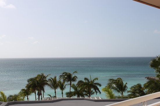 Divi Aruba Phoenix Beach Resort: from tower one..5th floor