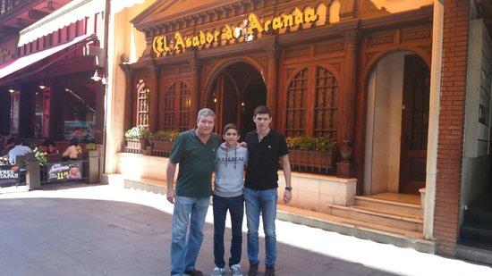 Asador de Aranda : LOS JUANES