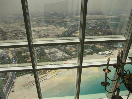 Burj Al Arab Jumeirah : View from Emirates Suite.