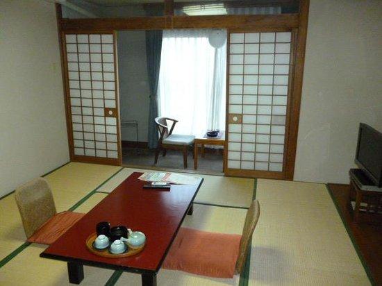Hotel New Tsuruta: 旧館の和室