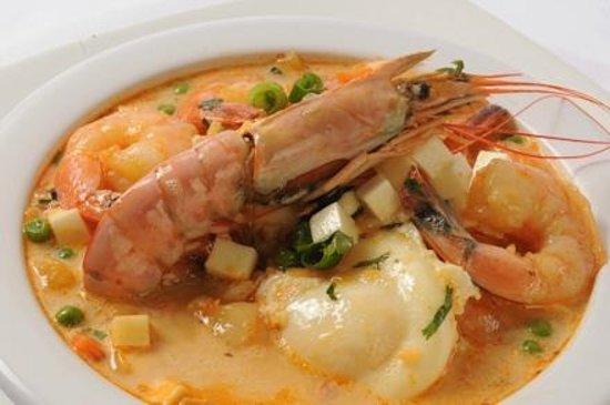 El Pollo Inka Miami: Chupe de Camarones Soup