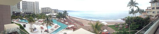 Now Amber Puerto Vallarta: View from master suite during day.