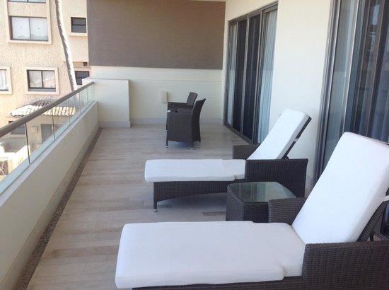 Now Amber Puerto Vallarta: Master suite balcony.