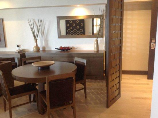 Now Amber Puerto Vallarta: Dining area of master suite.