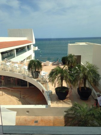 Secrets Huatulco Resort & Spa : View from the lobby