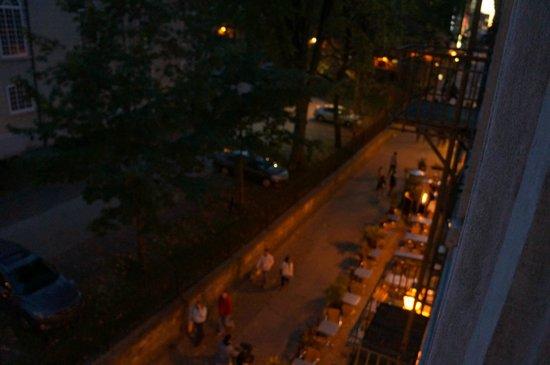 Auberge Place D'Armes : View