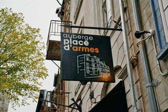 Auberge Place D'Armes: Hotel
