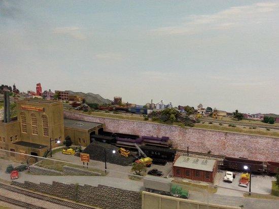 Wilmington Railroad Museum : model trains