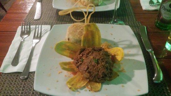 Yerba Buena Restaurant: This is the steak flank