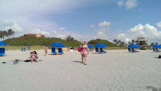 Delray Beach Marriott: Beach area