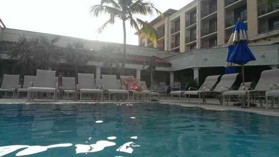 Delray Beach Marriott: Swimming Pool area