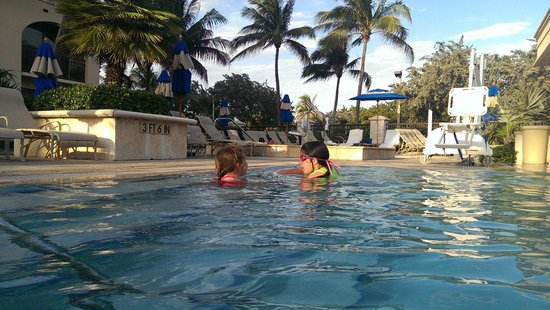Delray Beach Marriott: Swinning Pool