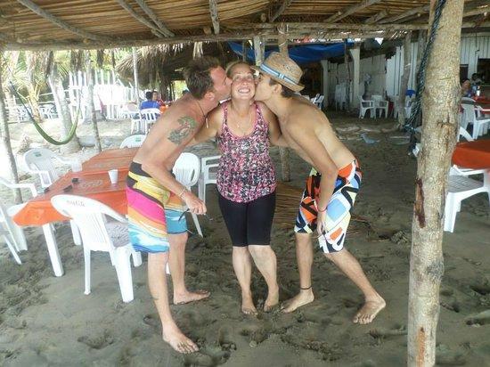 Hacienda La Rusa B&B: Playa