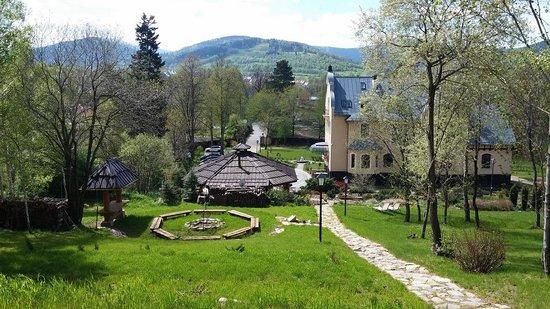 Villa Elise Park Pension: top of the garden