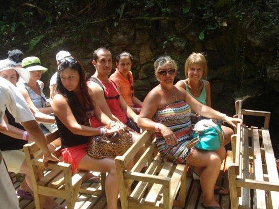 Xcaret Eco Theme Park: Paseo en Balsa