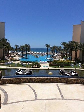 Hyatt Ziva Los Cabos: vista desde el lobby