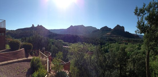 The Orchards Inn of Sedona: Can't beat the view!