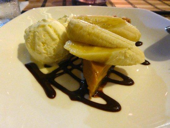 Kikau Hut Restaurant: Banoffi Pie, a slice of Heaven!