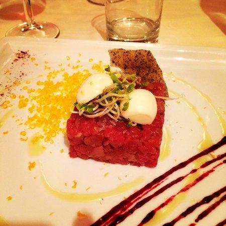 La Taverna di Fra Fiusch: Carne cruda.