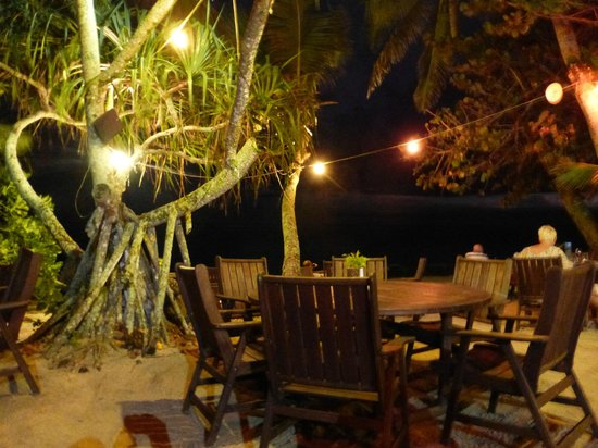 Vaima Polynesian Bar and Restaurant : View from our table