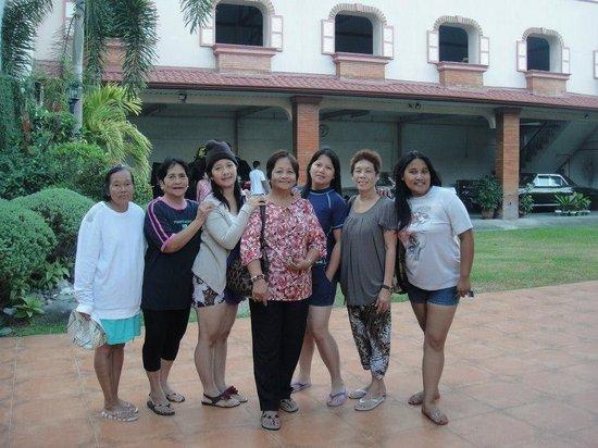 Casa de Dona Upeng : Very hospitable receptionist