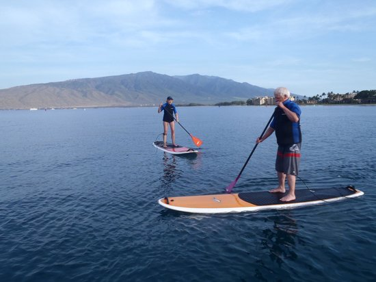 Maria Souza's Stand Up Paddle School: Here's the proof!