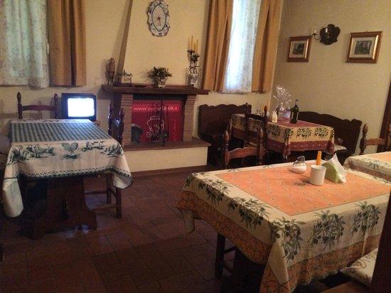 Hotel Melecchi : restaurant area