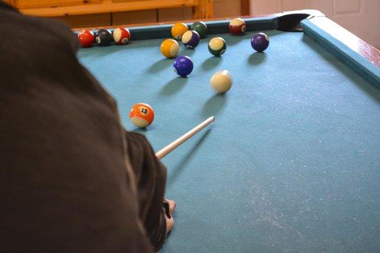 Grand Junction KOA : Pool in Game Room
