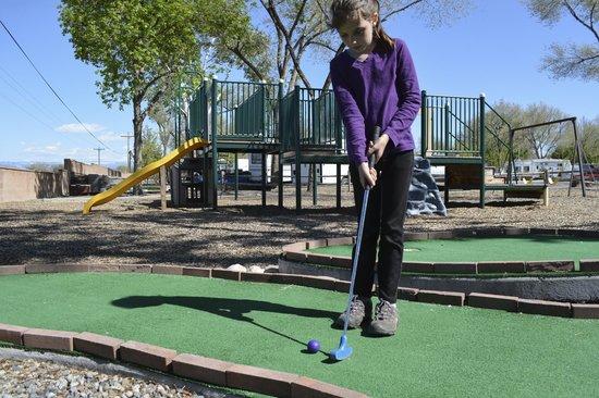 Grand Junction KOA : Miniature Golf