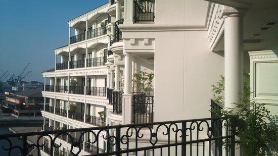 Hotel La Suite Kobe Harborland : お部屋からお昼の景色