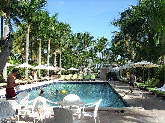 South Seas Hotel: Piscina
