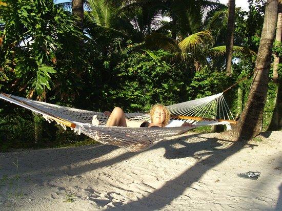 South Seas Hotel: Hamacas
