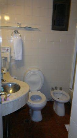 Hotel internacional: baño comodo