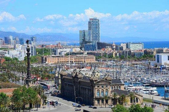 Hotel Vilamari : View from cable car stop