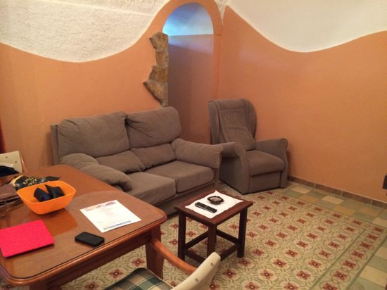 Cuevas La Granja: The living room of cave 7
