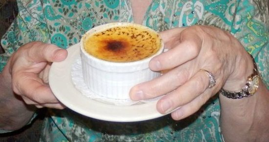 Alec's By the Sea: Creme Brulee dessert - gluten free