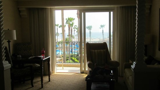 Hyatt Regency Huntington Beach Resort & Spa : Resort/oceanview room at Hyatt resort