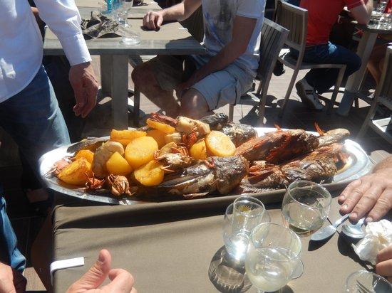 Grand Bar des Goudes: La bouillabaisse.