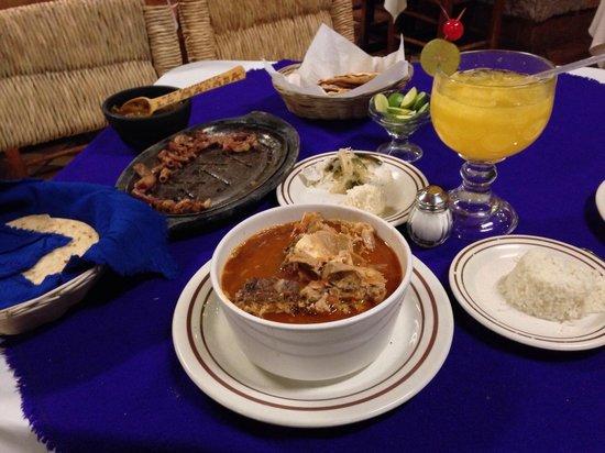 Restaurante La Majada: Cabrito en tomate