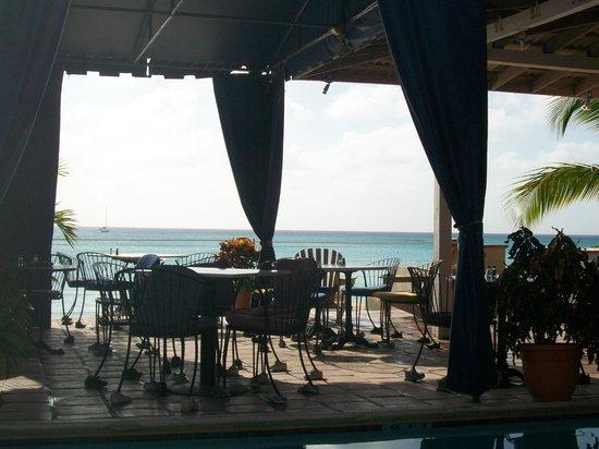Osprey Beach Hotel: View from The Birdcage restaurant
