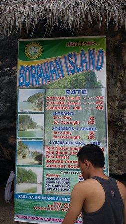 Padre Burgos, Filipinas: Borawan price