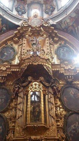 Iglesia de Santa Rosa de Viterbo: Estilo barroco