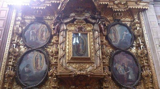 Iglesia de Santa Rosa de Viterbo: Virgen de Guadalupe