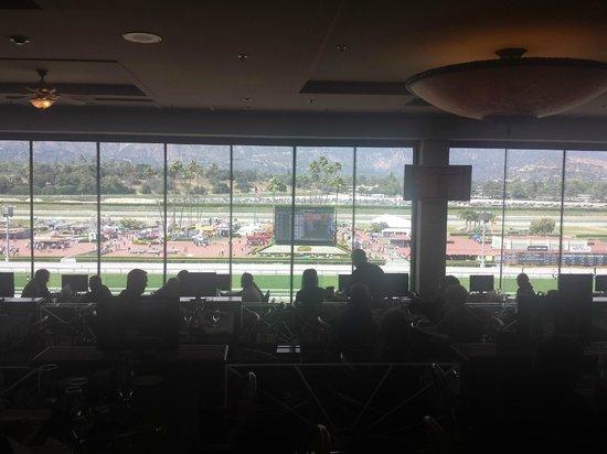 Santa Anita Race Park: inside