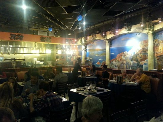 Opa! Greek Cuisine and Fun: Opa interior dining room