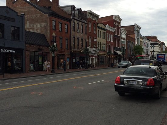 Ruas de Georgetown