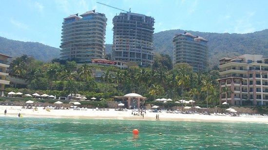 Garza Blanca Preserve, Resort & Spa: DESDE EL MAR