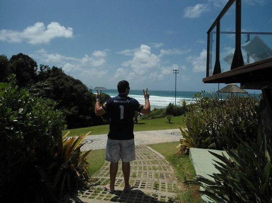 Costao do Santinho Resort Golf & Spa: Visu!!!