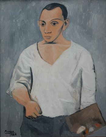 Philadelphia Museum of Art: Picasso: Self-Portrait