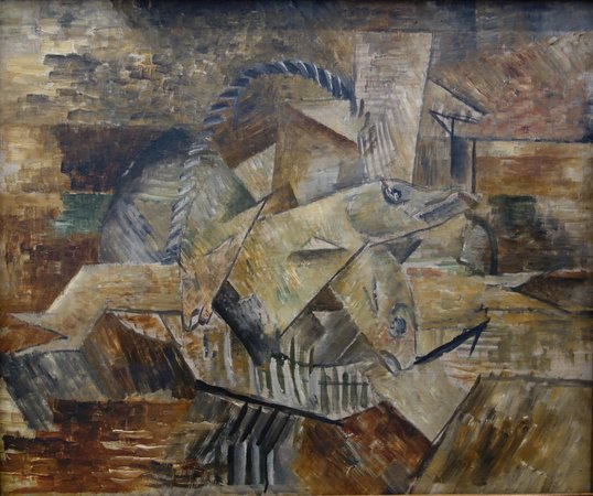 Philadelphia Museum of Art: Braque: Basket of Fish